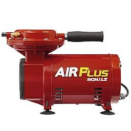 Motocompressor de Ar Air Plus MS 2,3 1/3HP 110/220V Monofásico com Chave Seletora