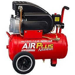 Motocompressor de Ar Air Plus 1,5HP 22L 120PSI 110V