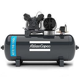Compressor de Ar Média Pressão 10 Pés 140 Libras 2HP Monofásico 2P 110/220V