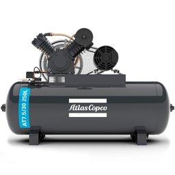 Compressor de Ar Alta Pressão 20 Pés 250L 175 Libras 5HP Trifásico 2P IP21 220/380V Motor Aberto