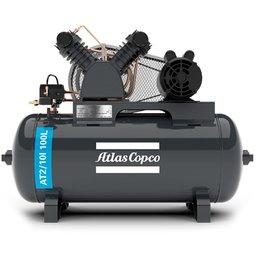 Compressor de Ar Média Pressão 10 Pés 140 Libras 2HP Trifásico 2P IP21 220/380V
