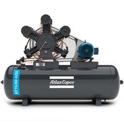 Compressor de Ar Alta Pressão 60 Pés 175 Libras 425L 15HP Trifásico 2P 220/380V