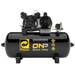 b6cd33f62 Compressor de Ar Ônix Pro 10 Pés 2HP Mono 100 Litros 110 220V - PRESSURE -ONP-10 100-VM - R 1399.9