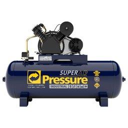 Compressor de Ar 15 Pés 175 PSI 200 Litros Trifásico