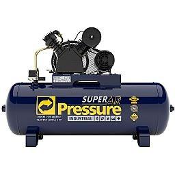 Compressor de Ar 20 Pés 175 PSI 200 Litros Trifásico 220/380V