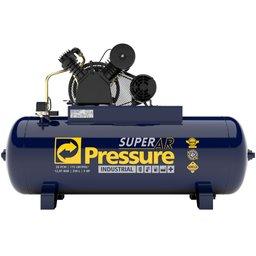 Compressor de Ar 20 Pés 175 PSI 250 Litros Trifásico IP55 380/660V