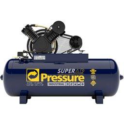 Compressor de Ar 25 Pés 175 PSI 250 Litros Trifásico 220/380V