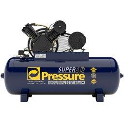 Compressor de Ar 30 Pés 175 PSI 250 Litros Trifásico IP55 380/660V