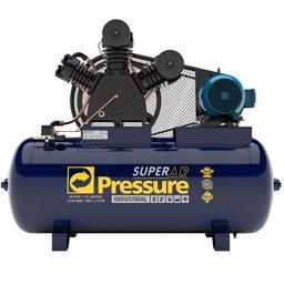 Compressor de ar Super Ar 40 Pés 360L PSI175 IP55 220/ 380V Trifásico