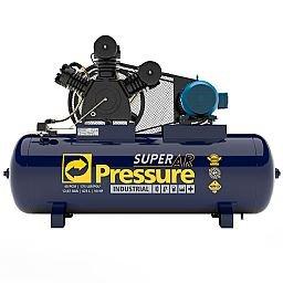 Compressor de Ar 40 Pés 175 PSI 425 Litros Trifásico 220/380V