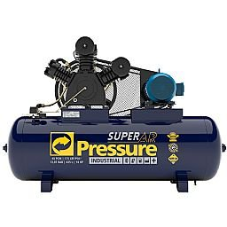 Compressor de Ar 40 Pés 175 PSI 425 Litros Trifásico IP55 220/380V