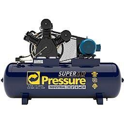 Compressor de Ar 40 Pés 175 PSI 425 Litros Trifásico IP55