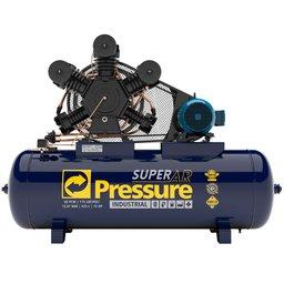 Compressor de Ar 60 Pés 175 PSI 425 Litros Trifásico IP55 220/380V