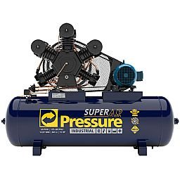 Compressor de Ar 60 Pés 175 PSI 425 Litros Trifásico IP55