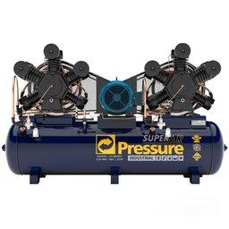 Compressor de Ar 120 Pés 175 PSI 500 Litros Trifásico IP55