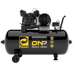 Compressor de Ar 10 Pés 140 PSI 100 Litros Trifásico 220/380V 2Hp