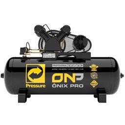 Compressor de Ar 20 Pés 140 PSI 200 Litros Trifásico 220/380V 5Hp