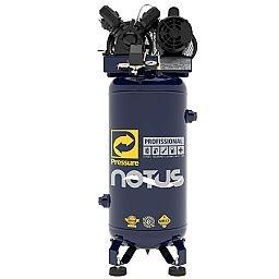 Compressor de Ar Vertical Notus 2HP 80 L 10 Pés 110/220V Mono
