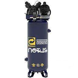 Compressor de Ar Vertical Notus 100L 2HP 110/220V Monofásico