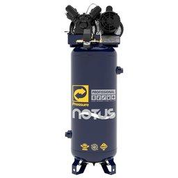 Compressor de Ar Vertical Notus 10 Pés 100L 2HP 220/ 380V Trifásico
