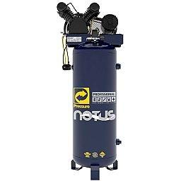 Compressor de Ar Vertical Notus 15 Pés 175L 3HP 110/ 220V Monofásico