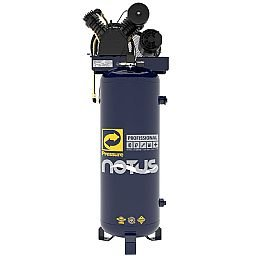 Compressor de Ar Vertical Notus 15 Pés 200 L 3HP 220/380V Trifásico