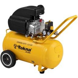 Compressor de Ar 2,5 HP 50L 8,5 Pés 8 bar 110V