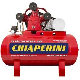 Compressor de Ar Média Pressão 15 Pés 150 Litros sem Motor