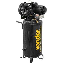 Compressor de Ar Vertical Vdse 10/80Vt Trifásico 220 V/ 380 V