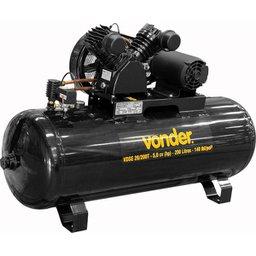Compressor de ar VDSE 20/200T trifásico 220 V/380 V
