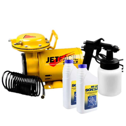 Kit Motocompressor Mono Jet Fácil 1/3 Cv SCHULZ-MS-2,3FACIL + 2 Óleos Lubrificante 1 Litro