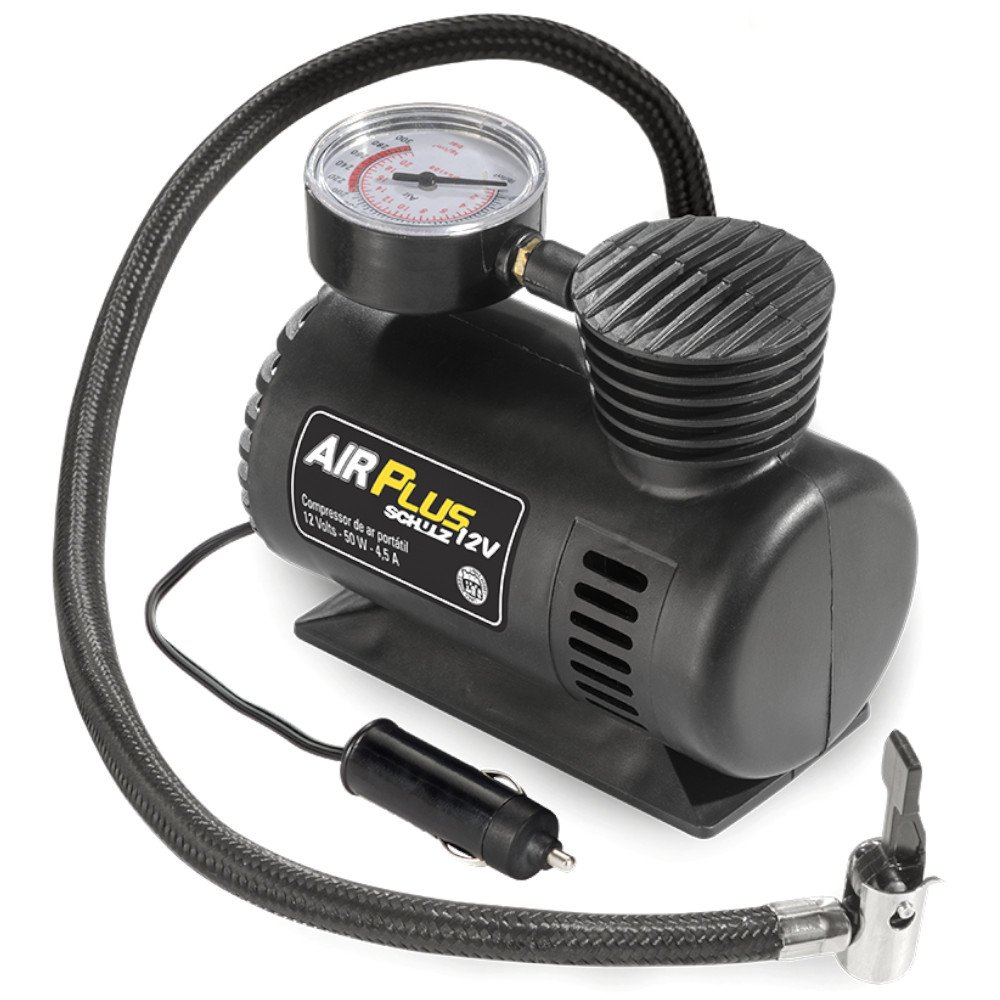 Motocompressor Ar Direto 12V 50W Air Plus