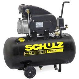 Motocompressor de Ar Pratic Air CSI 8,5 Pés 2HP 50 Litros