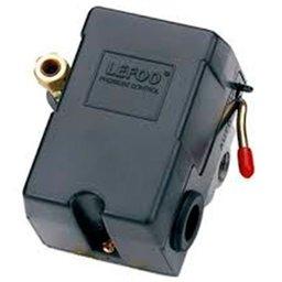 Pressostato para Compressor de Ar 100 à 140 PSI 4 Vias Média Pressão