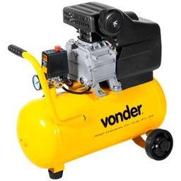 Motocompressor de Ar 21,6 Litros 6,5 Pés 2 CV 220V
