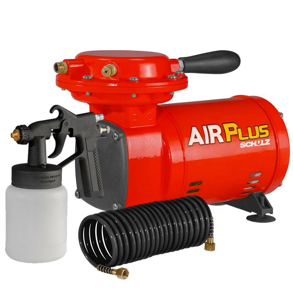 Motocompressor de Ar Direto 2,3 Pés 250W 220V com Kit de Pintura