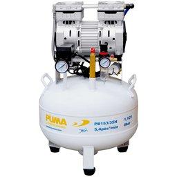 Compressor de Pistão Odontológico 11CV 35L 110V