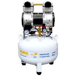 Compressor de Pistão Odontológico 1,6CV 35L 220V