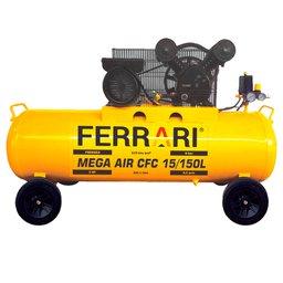Compressor de Ar Mega Air CFC 15 Pés 150L 3HP