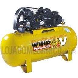 Compressor 15 pés 175 litros Trifásico Media pressão.