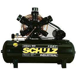 Compressor de Ar 60 Pés 425 Litros com Motor Aberto Trifásico 220/380V