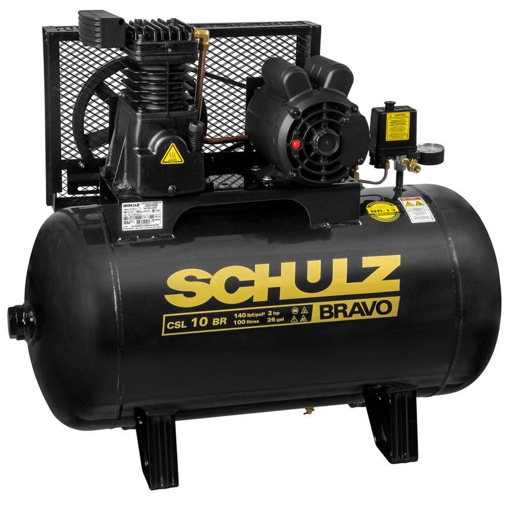 Compressor Schulz BRAVO CSL 10 BR/100 Mono Profissional