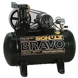 Compressor Schulz BRAVO CSL 10 BR/100 Mono Profissional Industrial