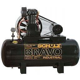Compressor CSL20BR/200L Alta Pressão Industrial 20 Pés 175 LBS Trifásico Bravo