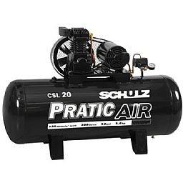 Compressor Pratic 20/200 Litros Trifásico