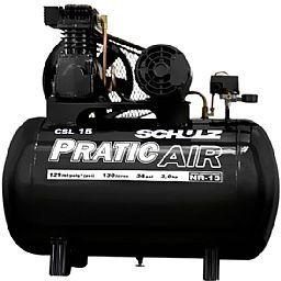 Compressor Pratic Air Trifásico CSL 15/130 - 3 CV