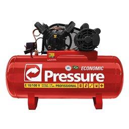 Compressor de Ar 10 Pés 100 Litros Trifásico - Economic