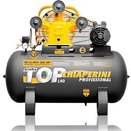 Compressor Top 15 MP3V 150 Litros Motor 3Hp Monofásico