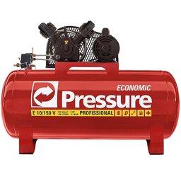Compressor de Ar Monofásico 10 Pés 150 Litros 110/220V - Economic