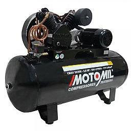 Compressor de Ar 20 pés 5,0 HP 200 Litros Trifásico 220/380V Alta Pressão